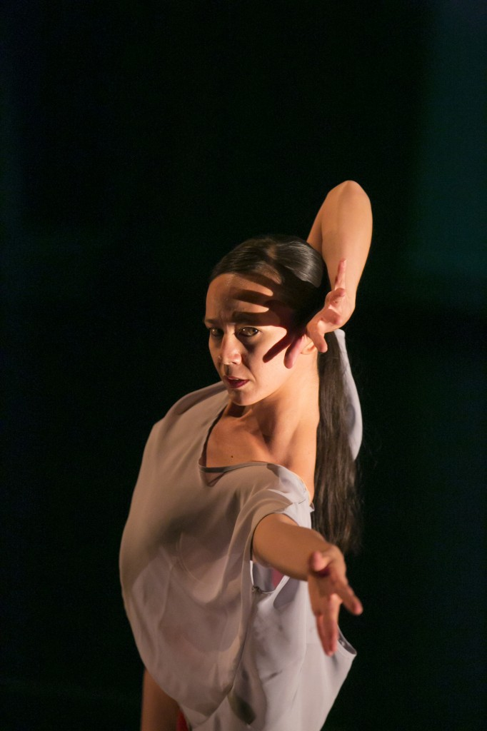"Robyn Mineko Williams in ""Annunciation"" by Jonathan Fredrickson. Photo by Todd Rosenberg"